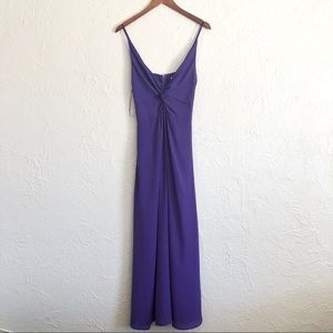 EVERLY Purple Gown